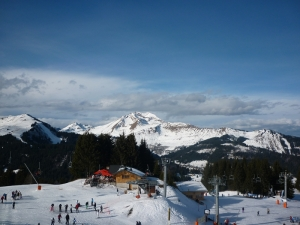 top-of-the-Pleney Morzine-Les-Portes-du-Soleil-France-ski-resort